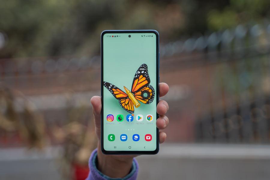 Galaxy A72 - Display 1