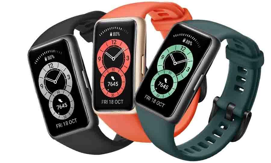 Huawei Band 6 Color Options Design Display