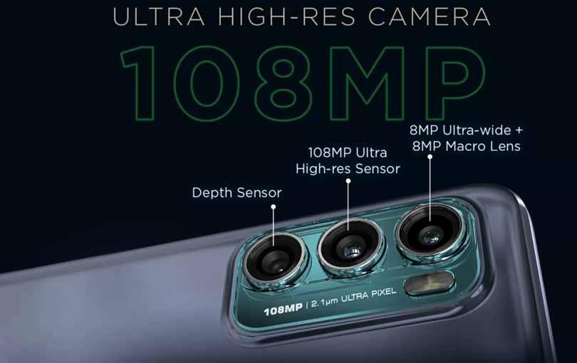 Moto G60 Camera setup