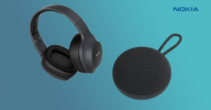 Nokia Wireless Speaker SP-101 Essential Wireless Headphones E1200 Nepal