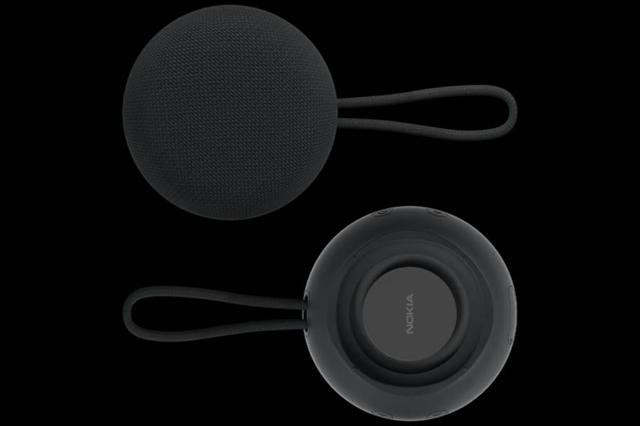 Nokia Wireless Speaker SP-101 Front Back