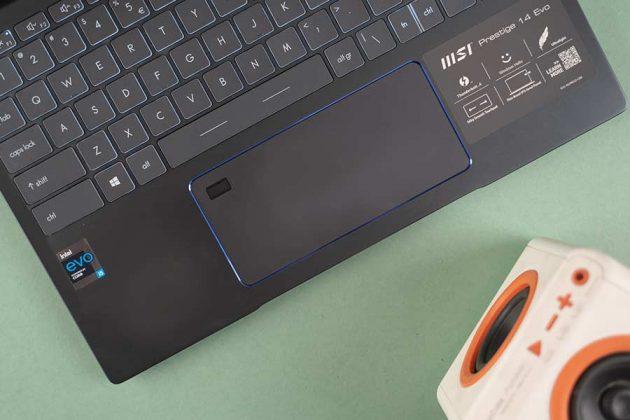 Prestige 14 Evo - Trackpad