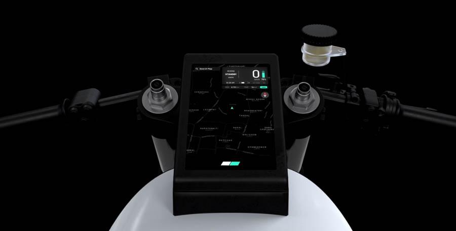 Yatri Motorcycles Project Zero Dashboard P0