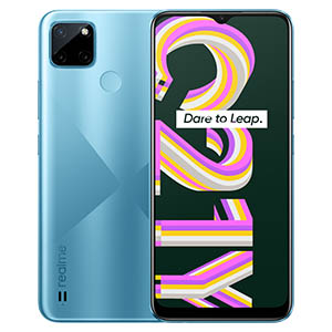 Realme C21Y - Cross Blue best phones under 20000 in Nepal