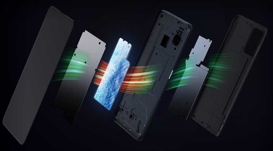 Realme GT Neo Cooling Mechanism