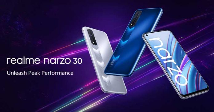 Realme Narzo 30 launched 4G Price in Nepal Specifications Features Availability