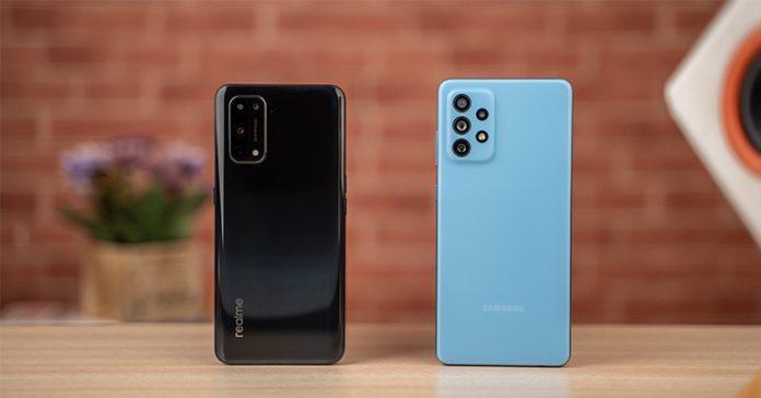 Realme X7 Pro vs Samsung Galaxy A72