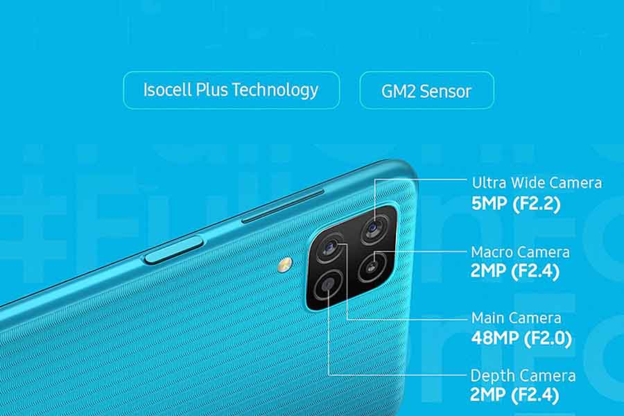 Samsung Galaxy F12-camera