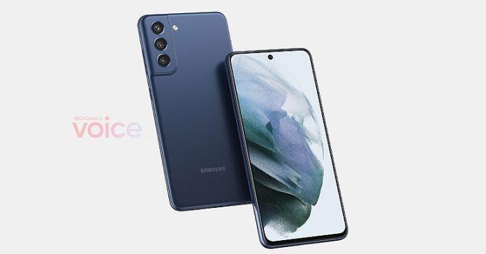 Samsung Galaxy S21 FE renders