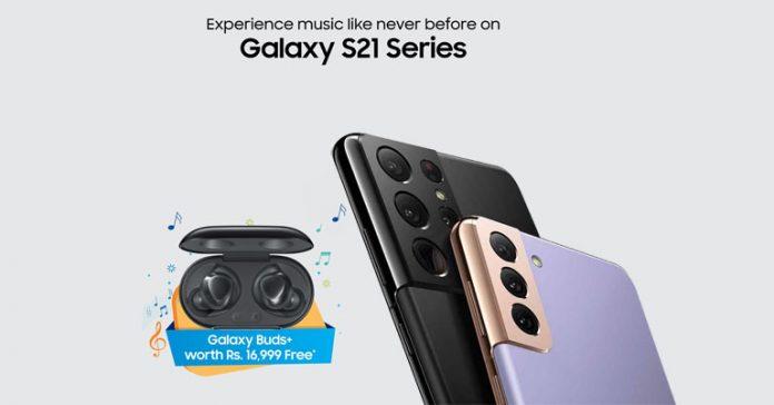 Samsung Galaxy S21 series Buds+ offer buds plus nepal