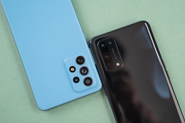 X7 Pro vs Galaxy A72 - Back Cameras