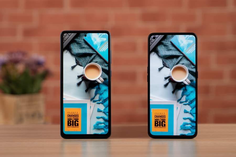 X7 Pro vs Galaxy A72 - Display 1