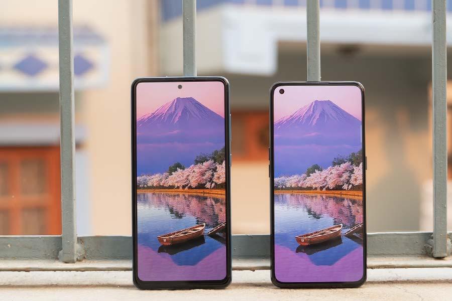 X7 Pro vs Galaxy A72 - Display 2