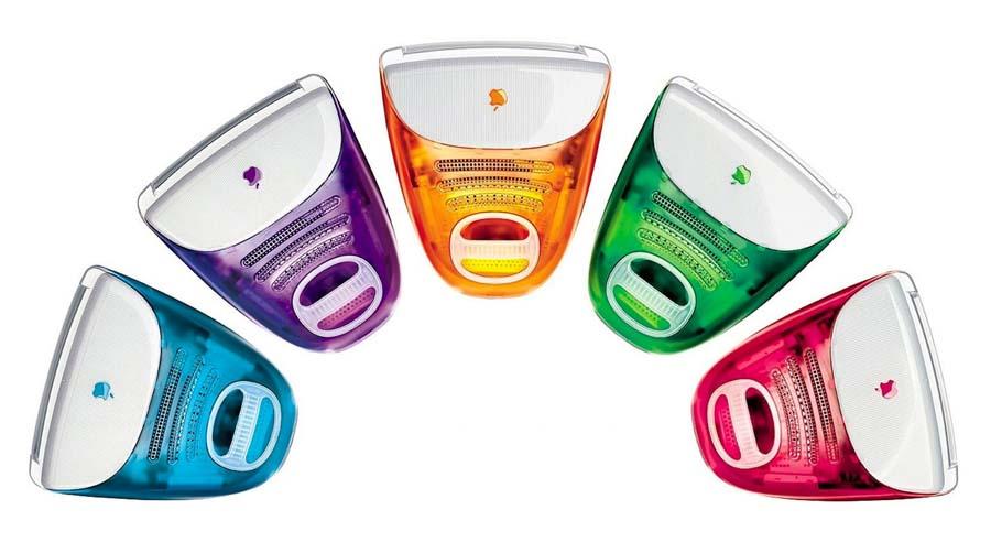 iMac G3 - Colors