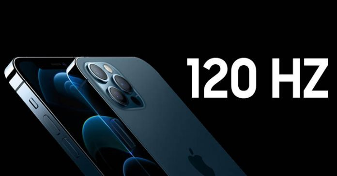 120Hz refresh rate tech on iPhone 13 Pro Max ProMotion Display Technology LTPO AMOLED panel