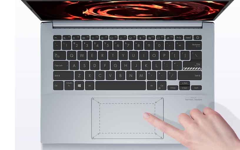 Asus VivoBook Pro 14 Keyboard and Touchpad