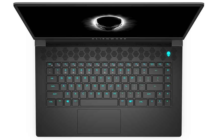 Dell Alienwae m15 R6 Keyboard and Touchpad