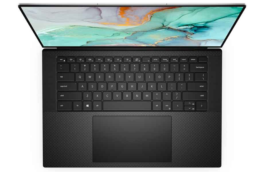 Dell XPS 15 9510 Keyboard and Touchpad