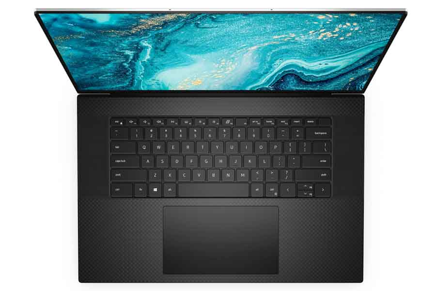 Dell XPS 17 9710 Keyboard and Touchpad