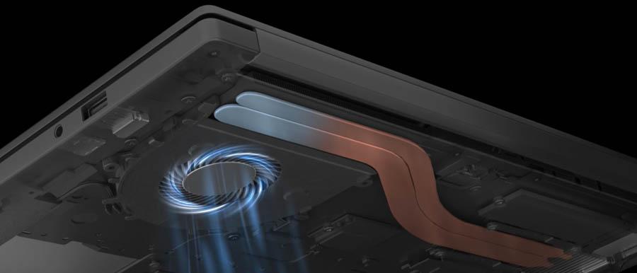Huawei MateBook D 14 15 Ryzen Edition Cooling