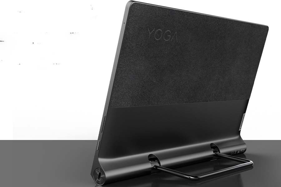 Lenovo Yoga Pad 13 Exterior Alcantara Skin 180 CNC machined Hinge