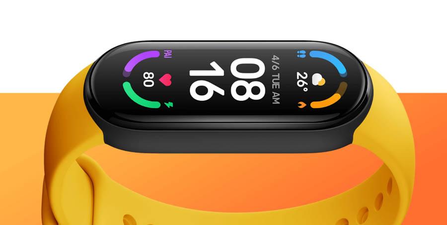 Mi Smart Band 6 - Display