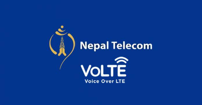 Nepal Telecom 4G VoLTE service Voice Over LTE data phone call