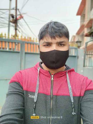Realme 8 - Portrait Selfie 1