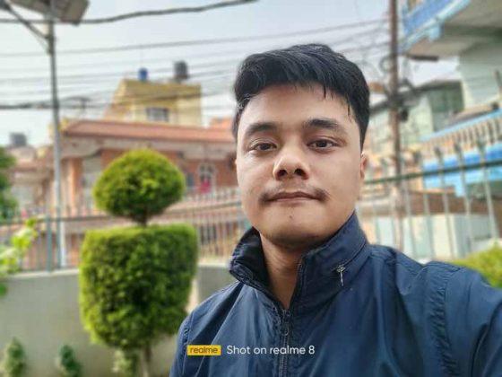 Realme 8 - Portrait Selfie 2