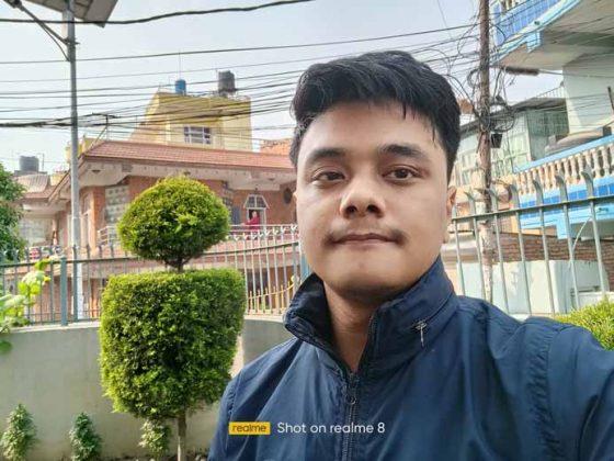 Realme 8 - Selfie 2