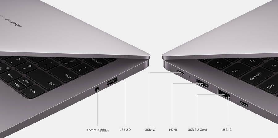 RedmiBook Pro 14 Ryzen Edition Ports