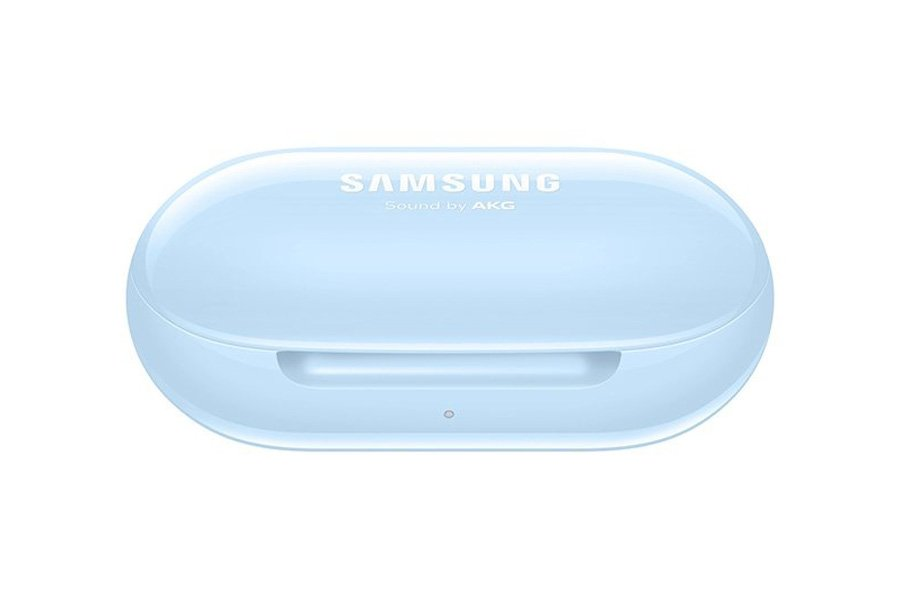 Samsung Galaxy Buds 2 case in blue color