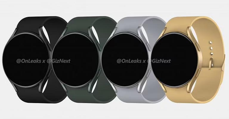 Samsung Galaxy Watch Active 4 leaked color options