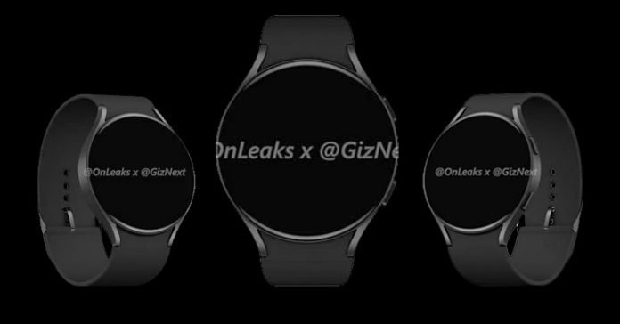 Samsung Galaxy Watch Active 4 leaked renders