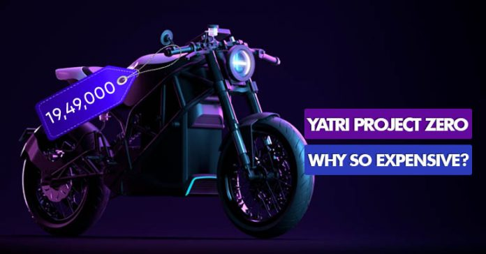 Why is Yatri Project Zero P0 electric bike so expensive Nepal