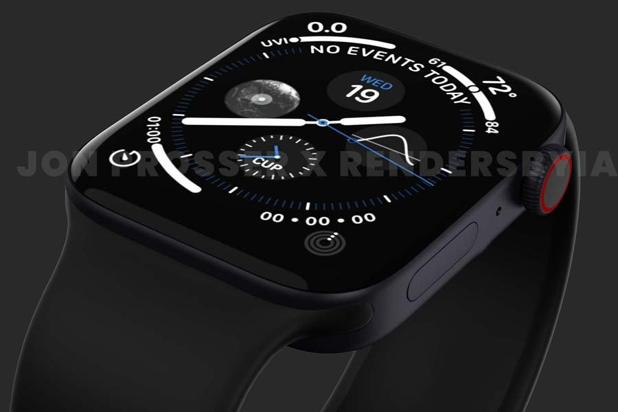 Apple Watch Series 7 Display Renders