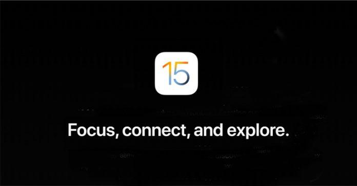 Apple iOS 15 Announced FaceTime SharePlay Notification Summary Wallet Maps