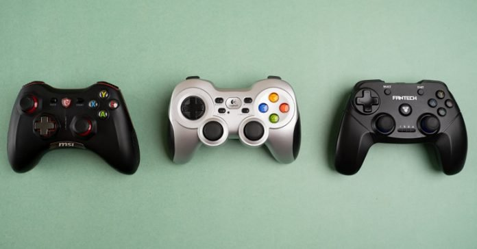 Best Wireless Game Controllers in Nepal Logitech GamdePad F710 MSI Force GC30 Fantech WGP12 Revolver