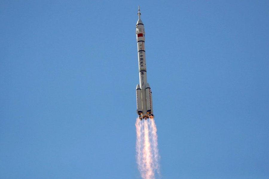 China Shenzhou-12 spacecraft