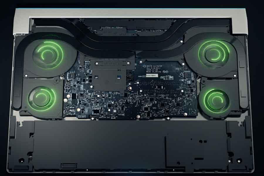 Dell Alienware x15 x17 quad fan system