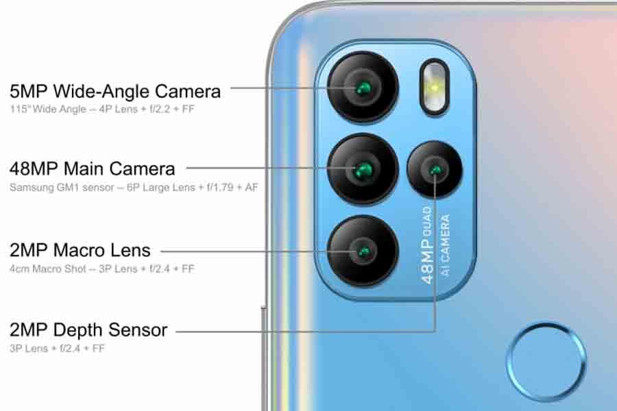 Gionee M15 Camera