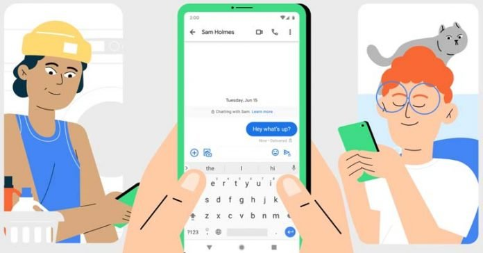 Global rollout of end to end encryption on Google Messages