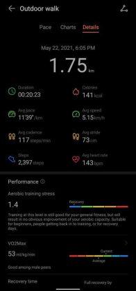 Huawei Band 6 - vs - Workout 1
