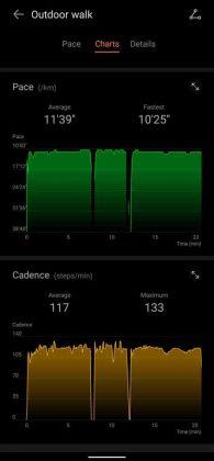 Huawei Band 6 - vs - Workout 4
