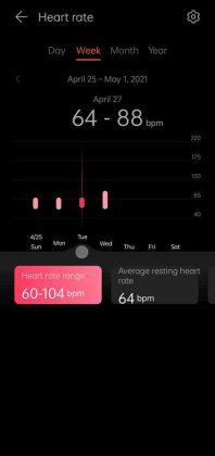 Huawei Health - Heart Rate