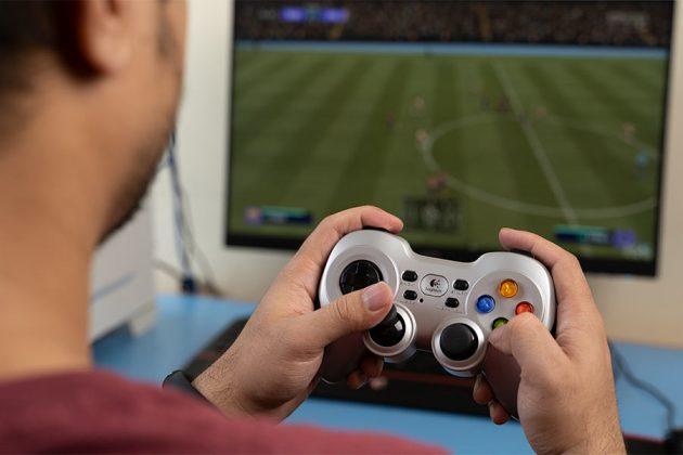 Logitech Wireless Gamepad F710 in game Best Controllers in Nepal