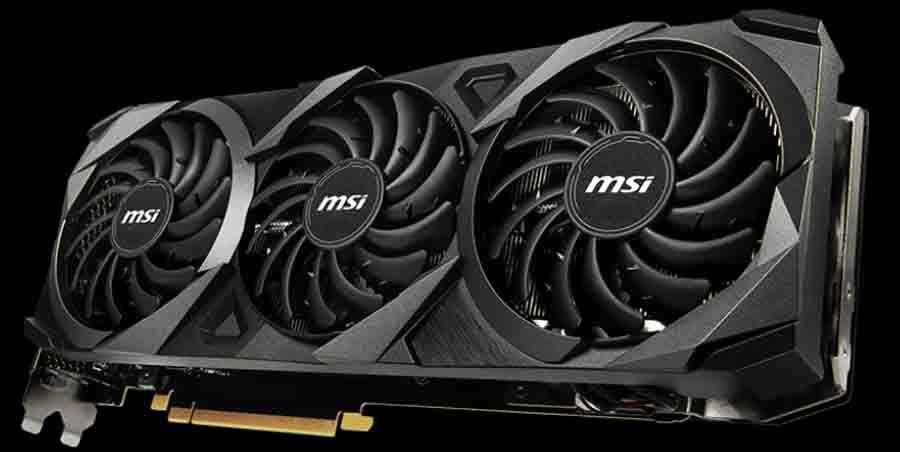 MSI Ventus GeForce RTX 3080 Ti 3X 12G OC GPU