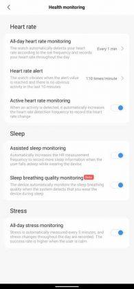 Mi Fit - Health Monitoring