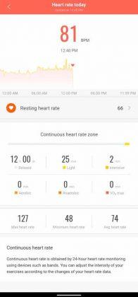 Mi Fit - Heart Rate 1