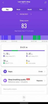 Mi Fit - Sleep 1